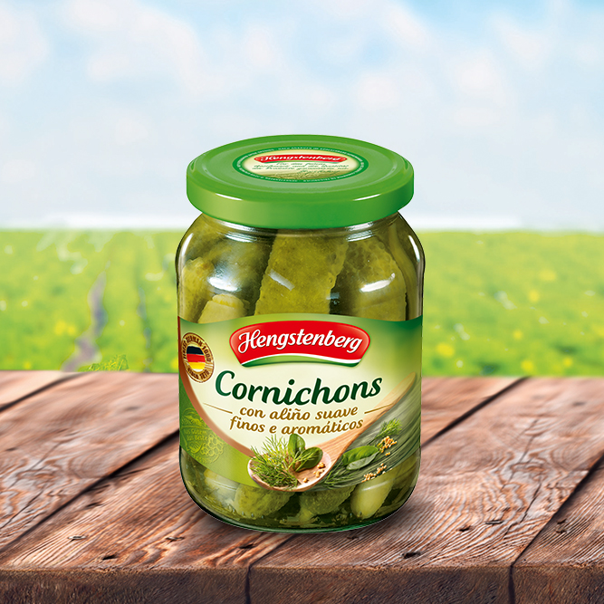 Cornichons herbal spicy