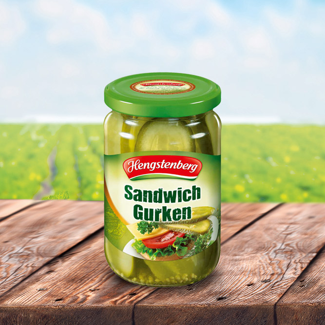 Sandwich Gherkins