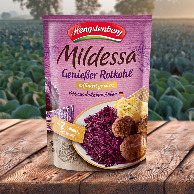 Mildessa Red Cabbage Finely Seasoned